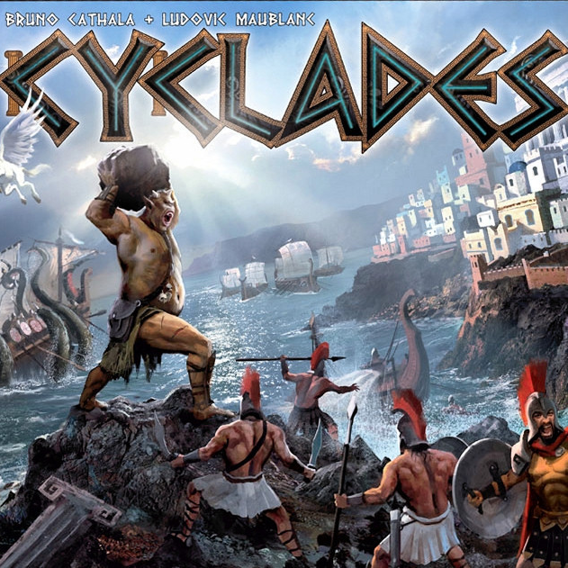 Cyclades - Written ReviewPodcast - Interview with Bruno Cathala (Co-Designer)