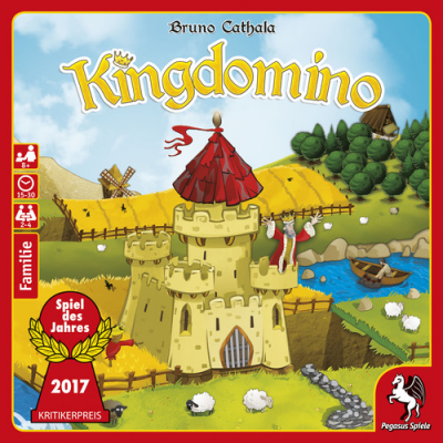 Kingdomino - Video - Review of KingdominoPodcast - Interview with Bruno Cathala (Designer)