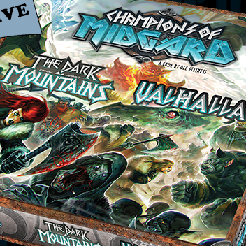 Champions of Midgard:The Dark Mountains & Valhalla - Video - Cardboard Cutouts: 3 Great Expansions that Take it to 11Video - Cardboard Cutouts: Critical Hits of 2017