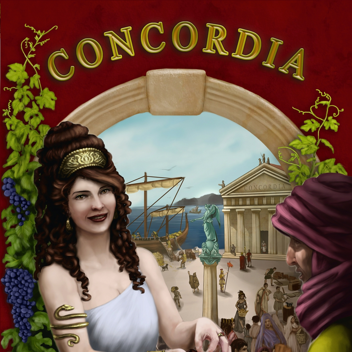 Concordia - Video - Cardboard Cutouts: 3 Great Games Beyond Catan
