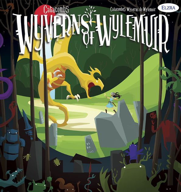 Catacombs: Wyverns of Wylemuir - Video - First Look at Wyverns of Wylemuir - Live @ PAX UnpluggedVideo - Wyverns of Wylemuir ReviewPodcast - Interview with Aron West (Designer / Publisher) # 1Podcast - Interview with Aron West (Designer / Publisher) # 2Podcast - Dice Tower Con mini interviews ft. Aron West (Co-Designer / Publisher)