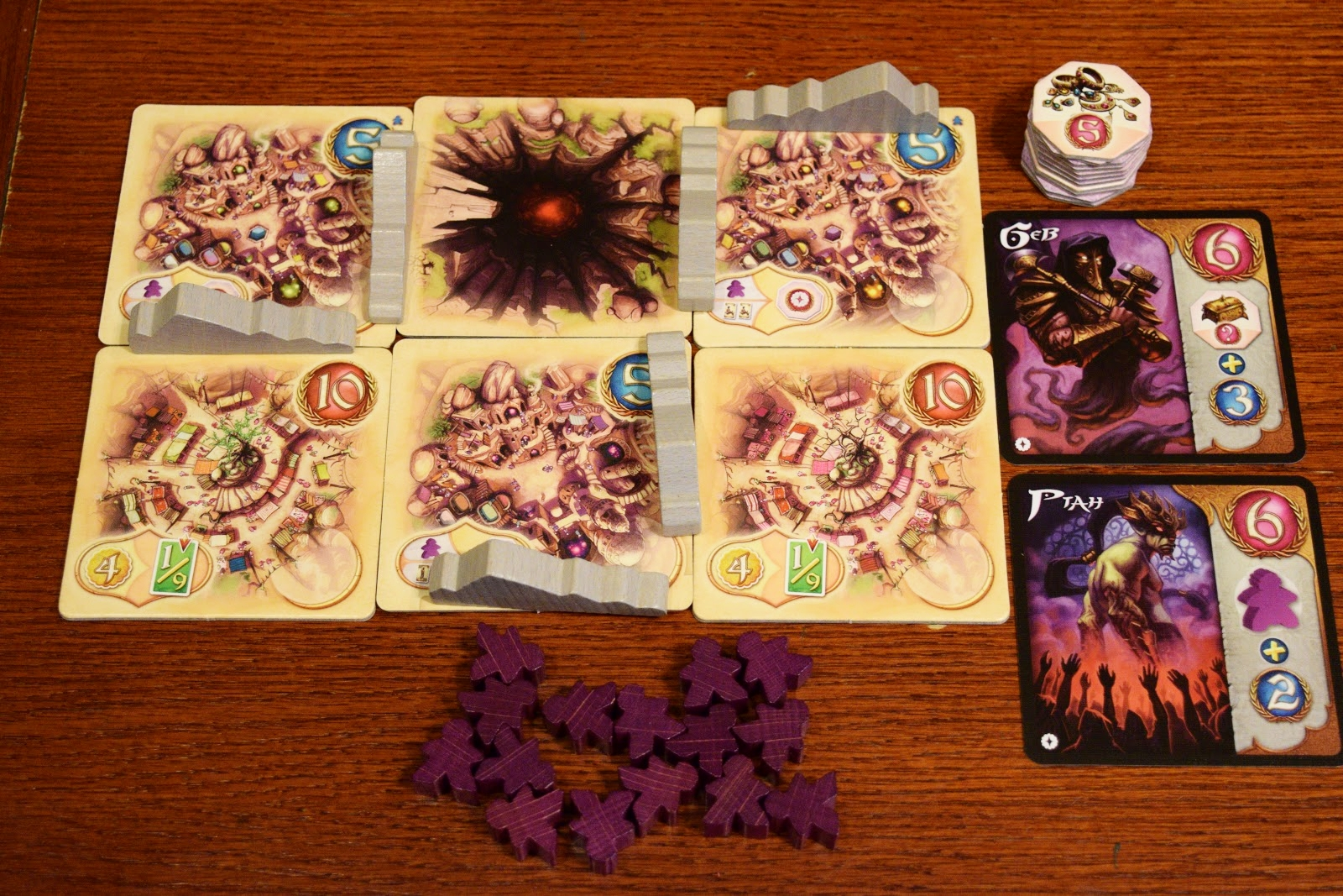 Components for the expansion - Artisans of Naqala.