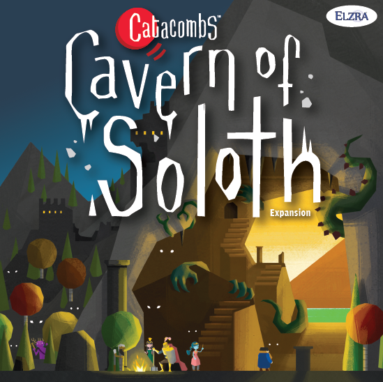 Catacombs: Cavern of Soloth - Video - Cavern of Soloth ReviewPodcast - Interview with Aron West (Designer / Publisher) # 1Podcast - Interview with Aron West (Designer / Publisher) # 2Podcast - Dice Tower Con mini interviews ft. Aron West (Co-Designer / Publisher)