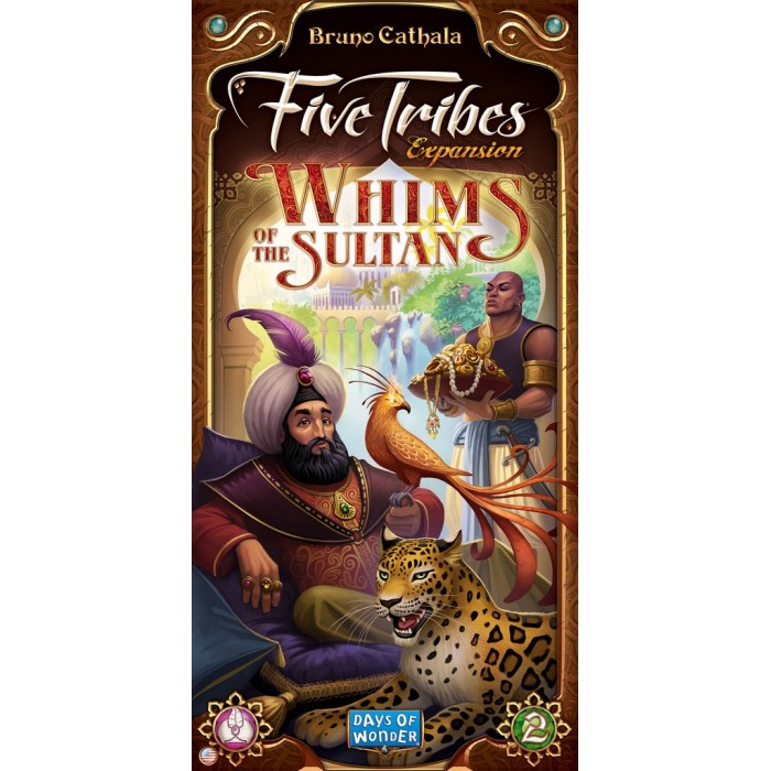 Five Tribes: Whims of the Sultan - Video ReviewPodcast - Interview with Bruno Cathala (Designer) Podcast - Review & Behind the Scenes - Five Tribes: The Artisans of Naqala