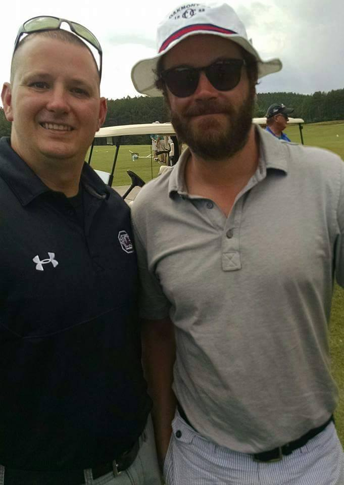 Danny Masterson at the BMW Charity Pro-AM 2016