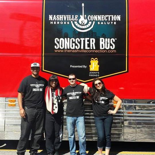 Team Crystal Nicole your Songster Bus Winners for the Nashville Connection 2014