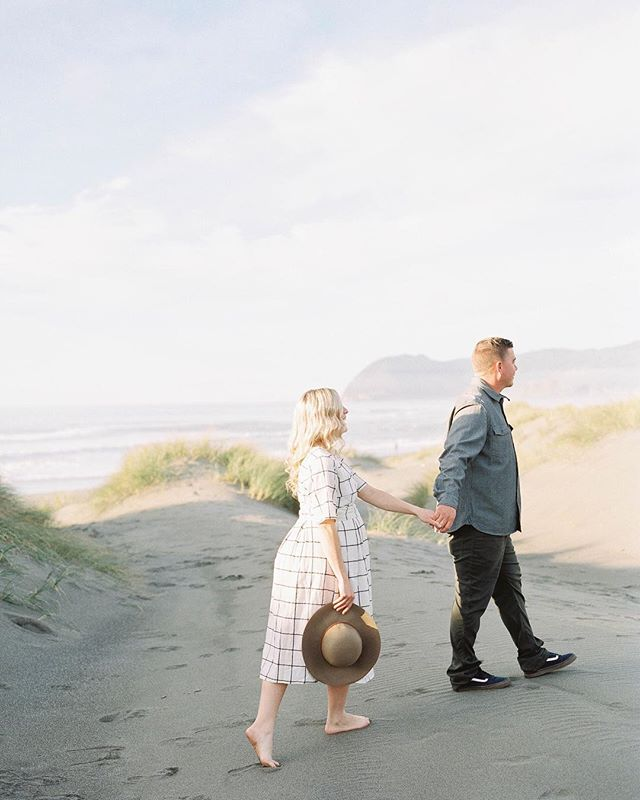Where you lead, I will follow. |  happy  v a l e n t i n e ' s  day! . Photography @katlynmariephotoart . #oregoncoast #filmphotography #love #goldenlight #beach #coast #simple #valentines #fineartphotography #maternity #maternityshoot