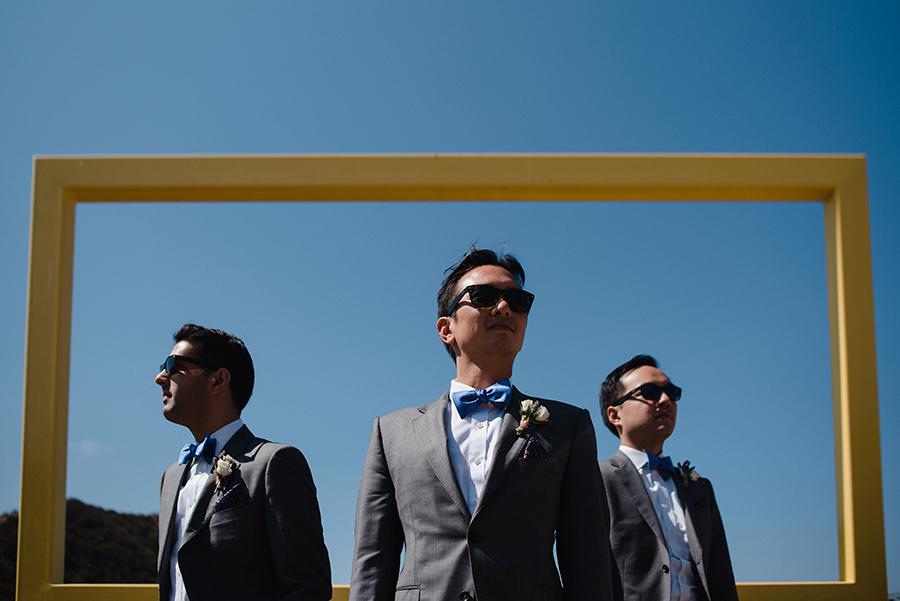 groomsmen california wedding saddlerock