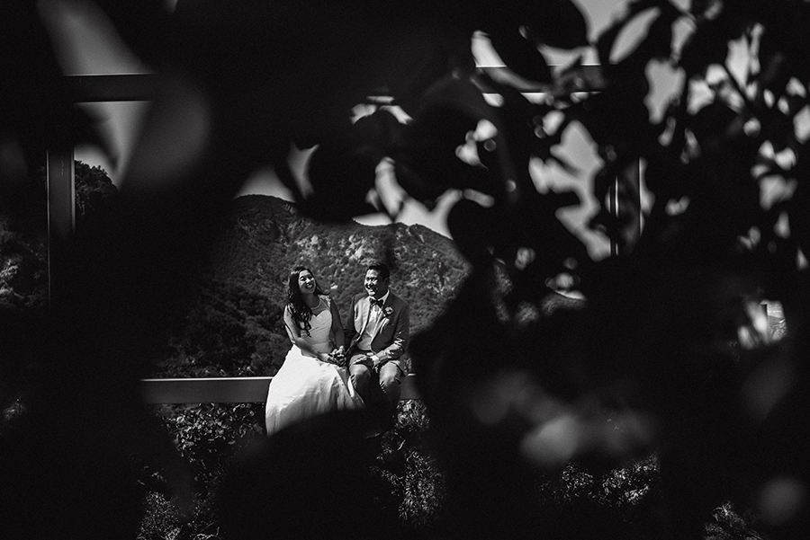 bride and groom california wedding