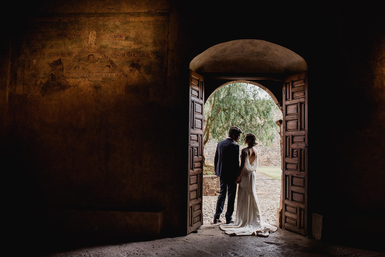 foto de boda convento michoacan