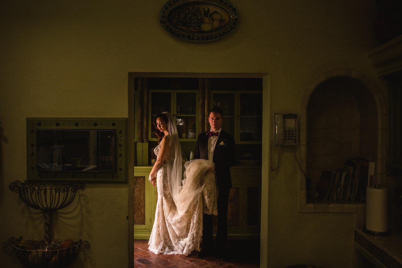 bride and groom wedding san miguel de allende