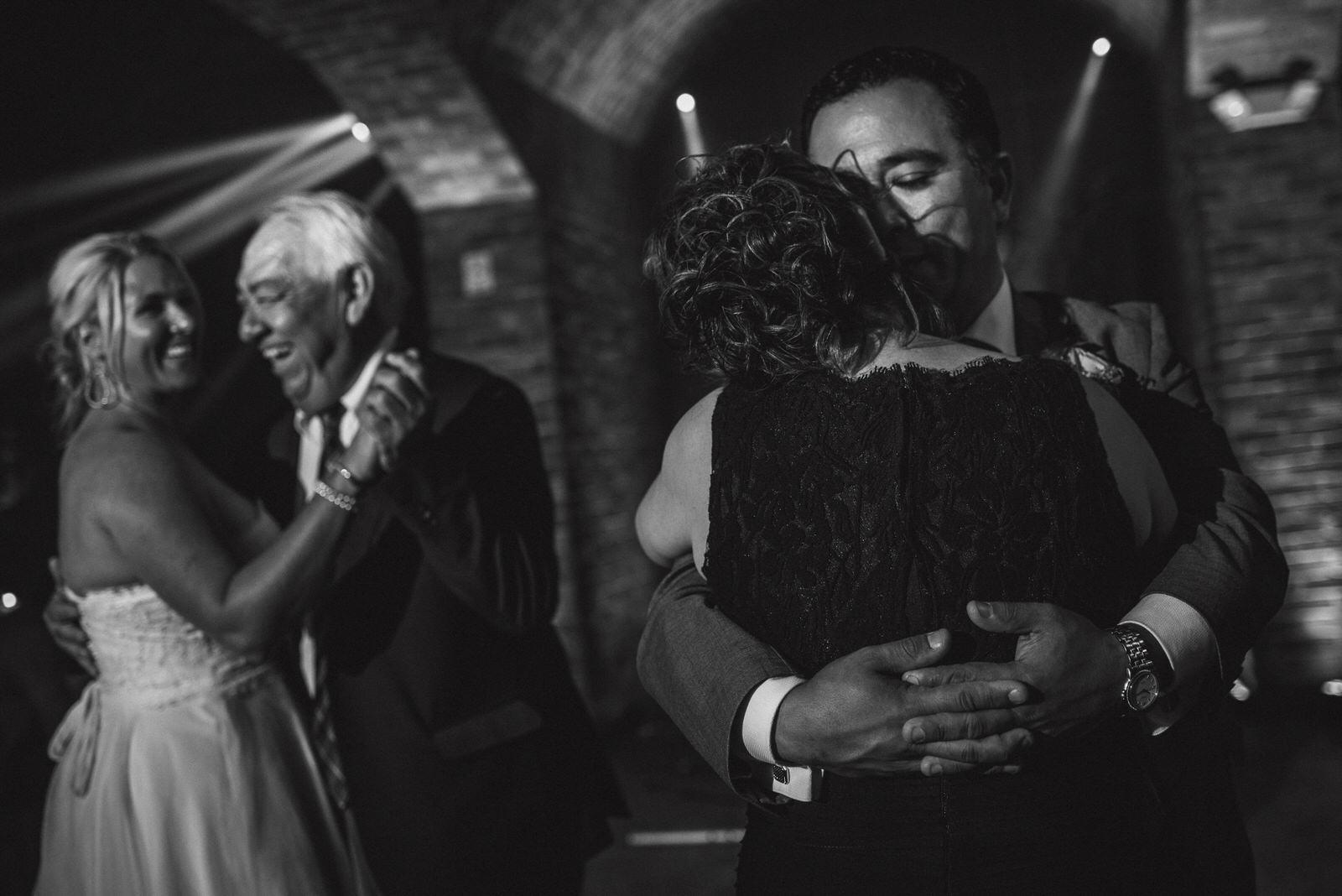 fist dance wedding