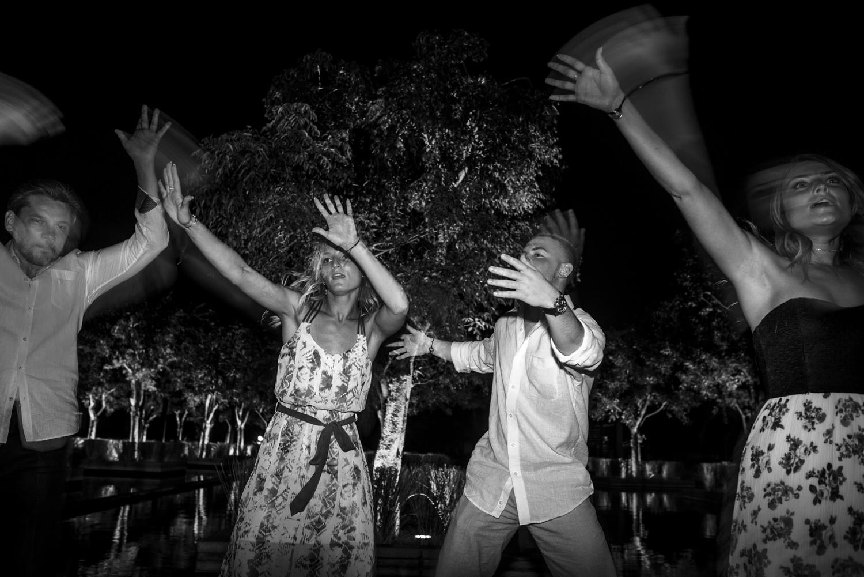 wedding party cancun