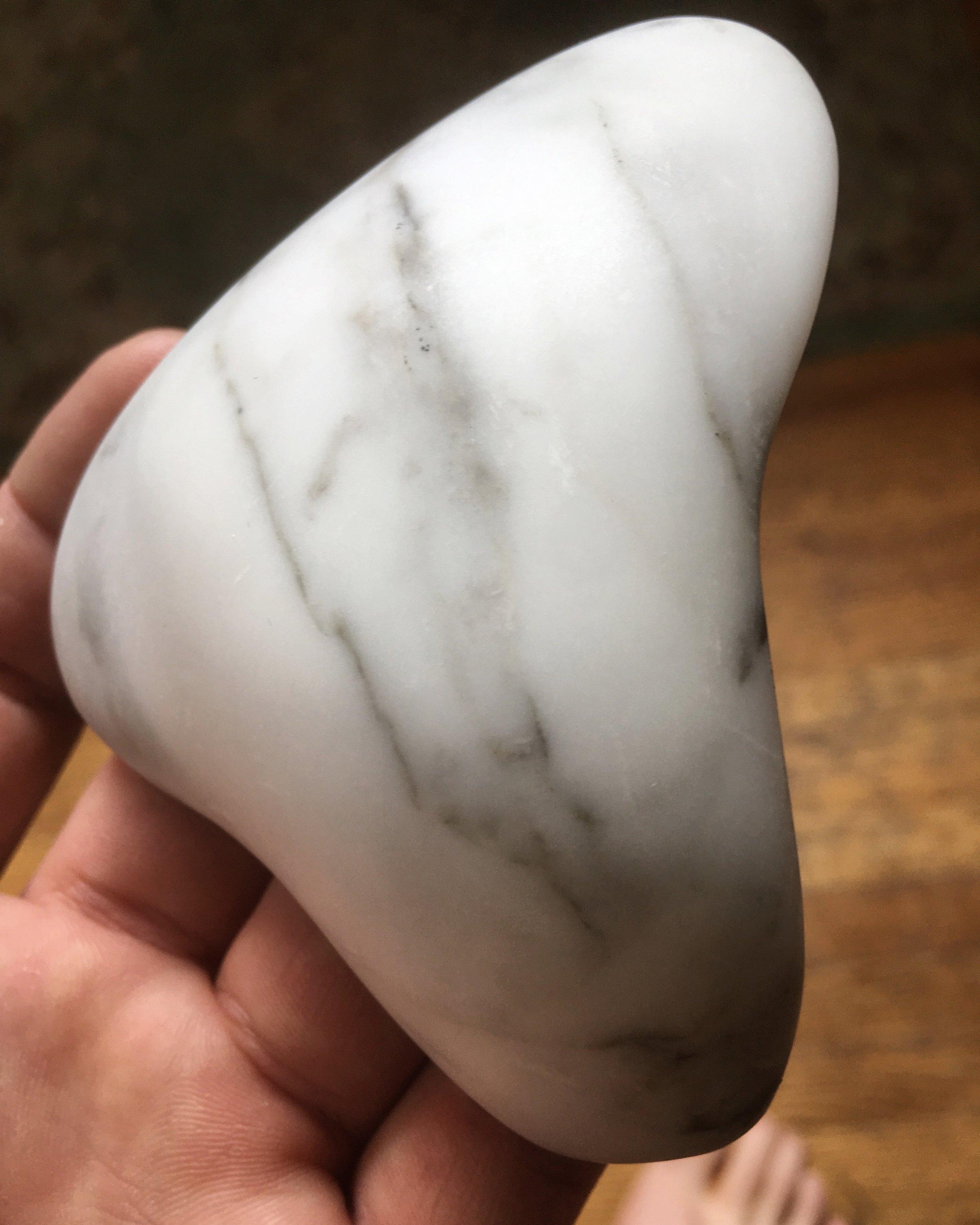 Carrara Pocket Stone
