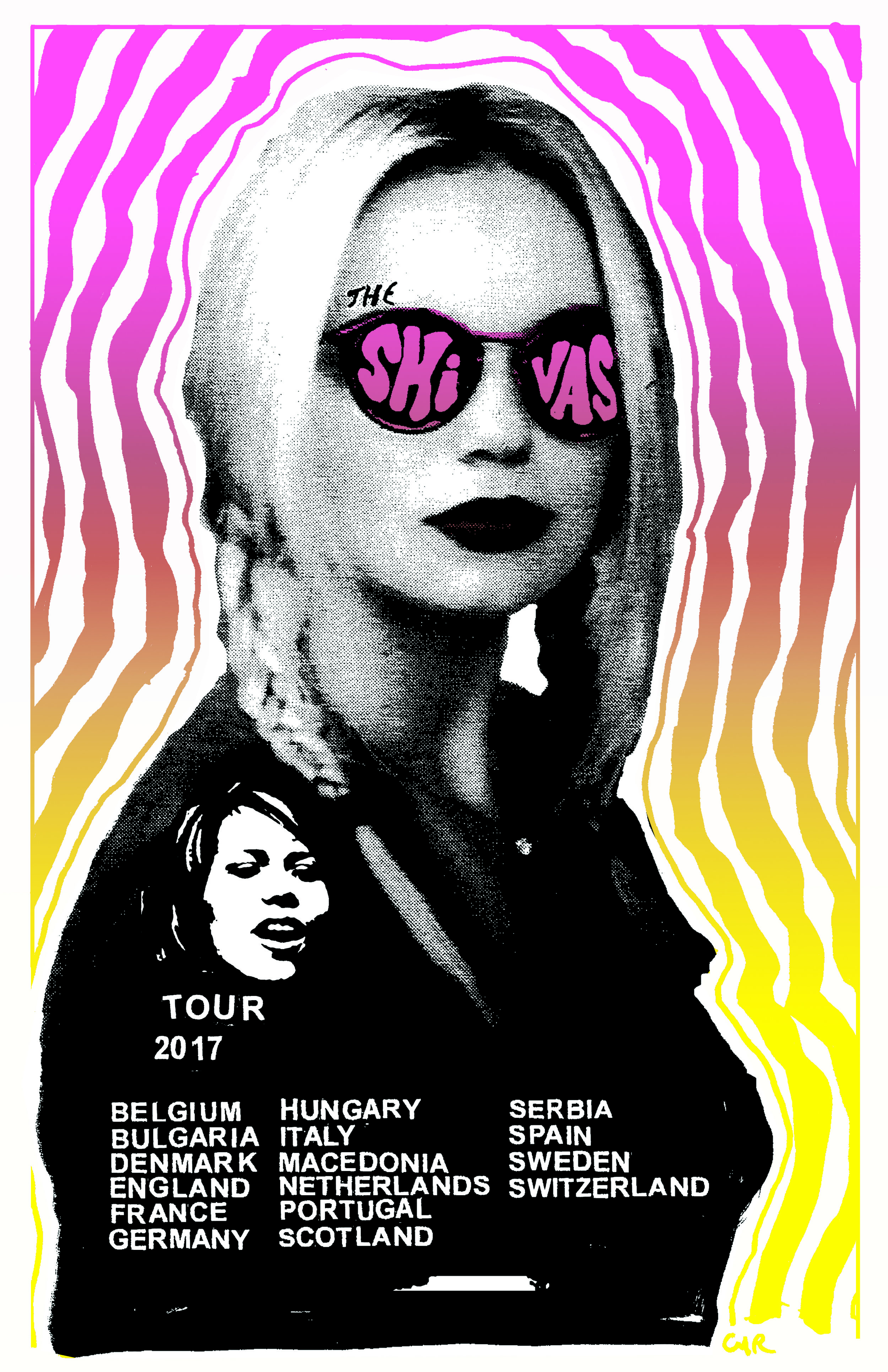 Europe Tour MAY/JUNE/JULY 2017