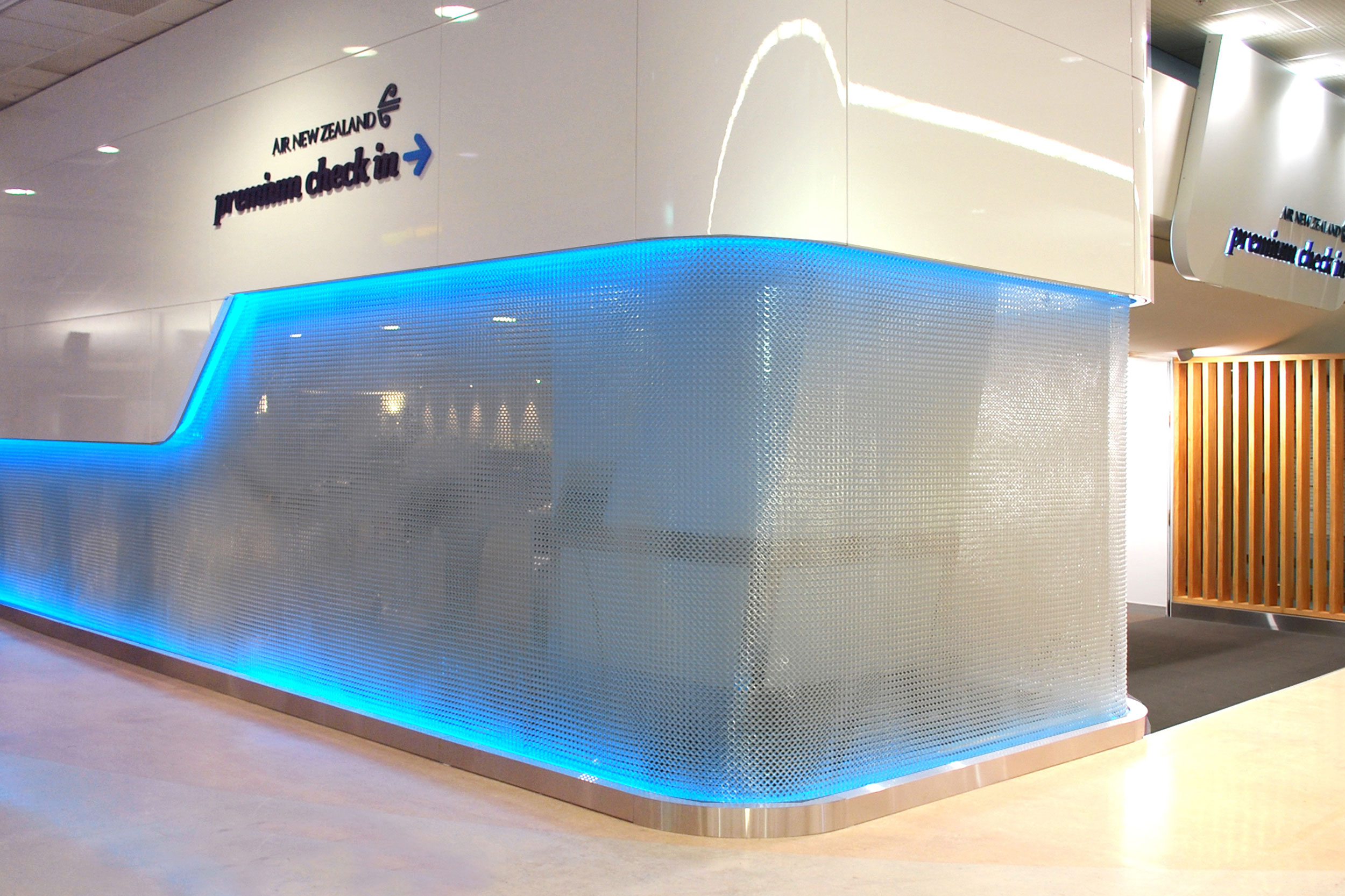 A Premium Solution for Air New Zealand Point-of Sale  Auckland Airport, Auckland, New Zealand