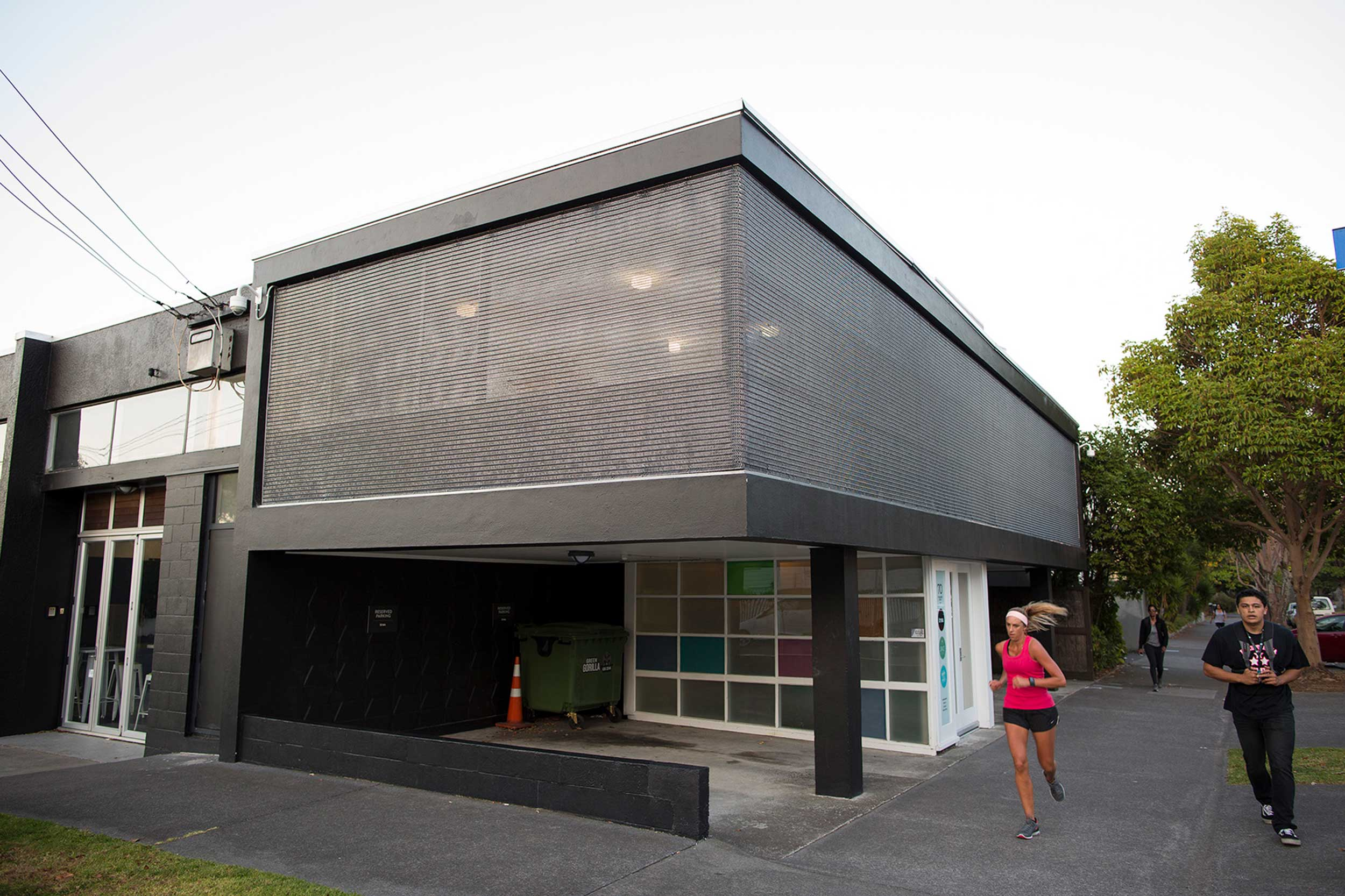 Solar Shading for Office Exterior, Auckland, New Zealand