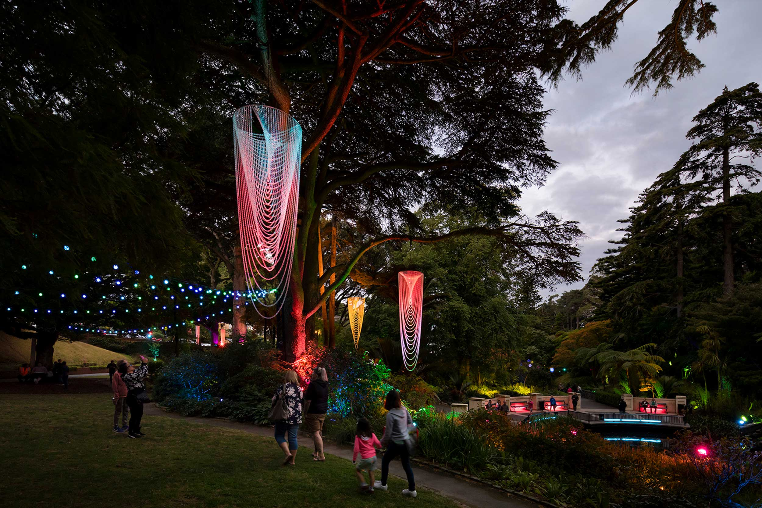 Lighting Feature for Gardens Magic