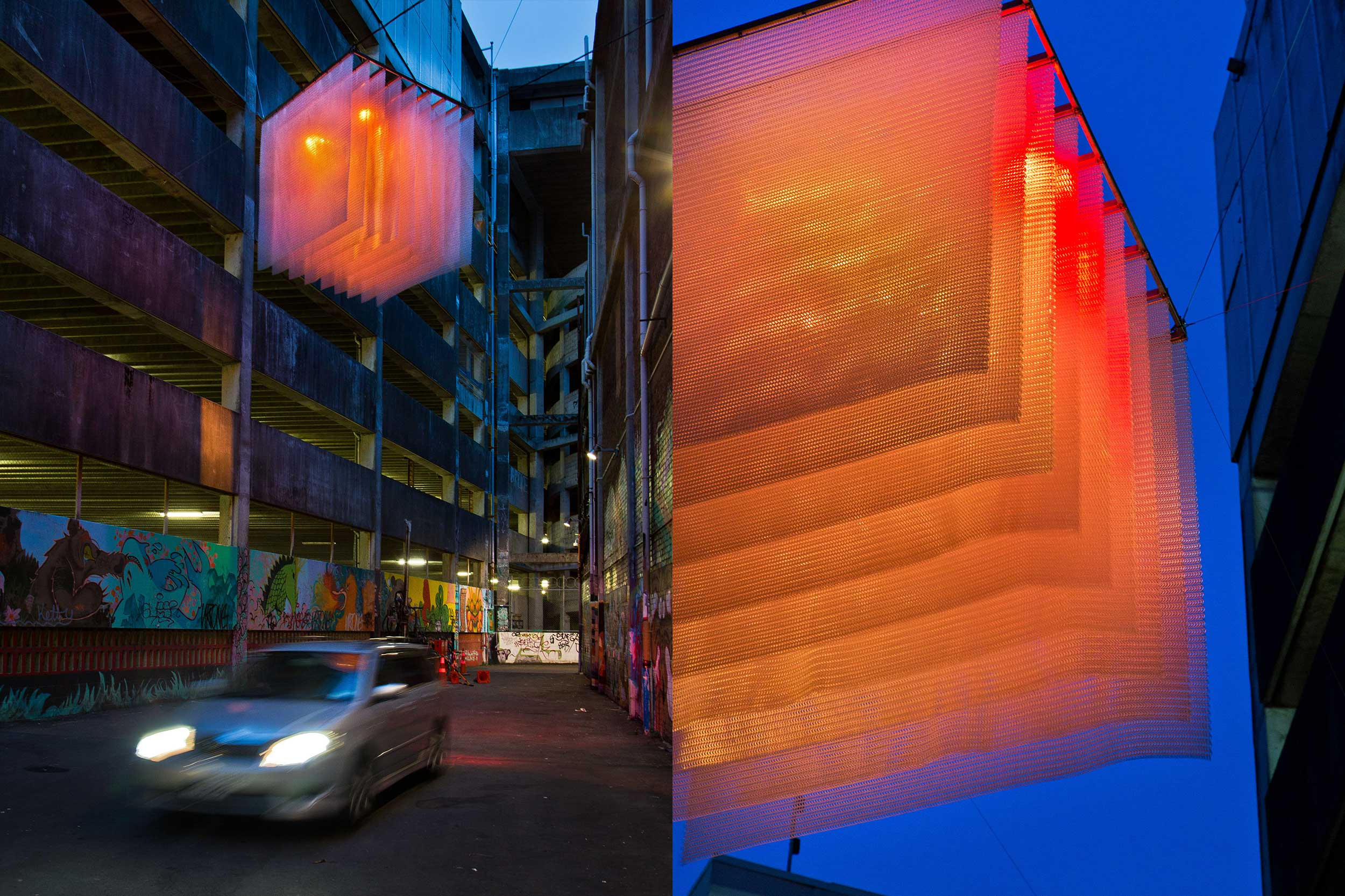 Lighting Feature for Opera House Lane