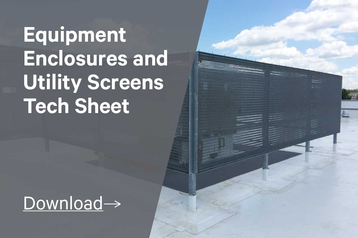 Equipment Enclosures and Utility Screens