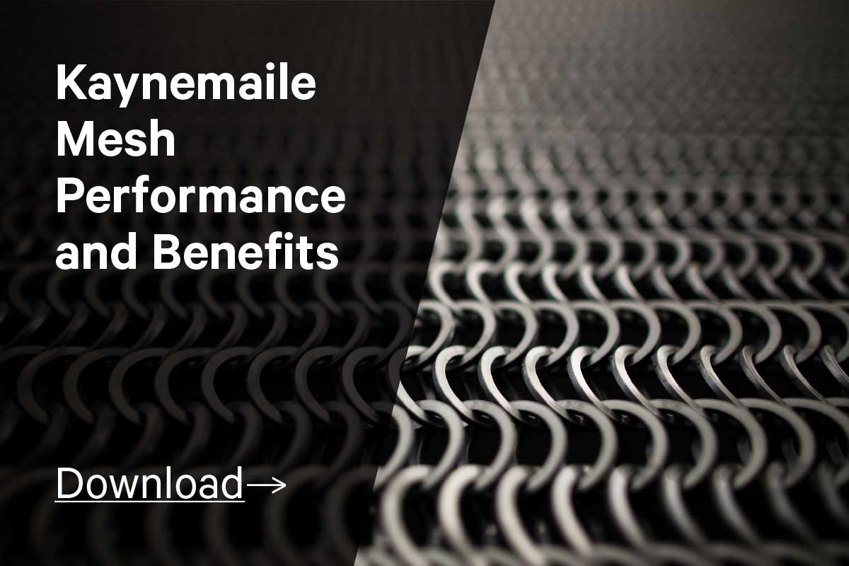 Kaynemaile mesh performance and benefits