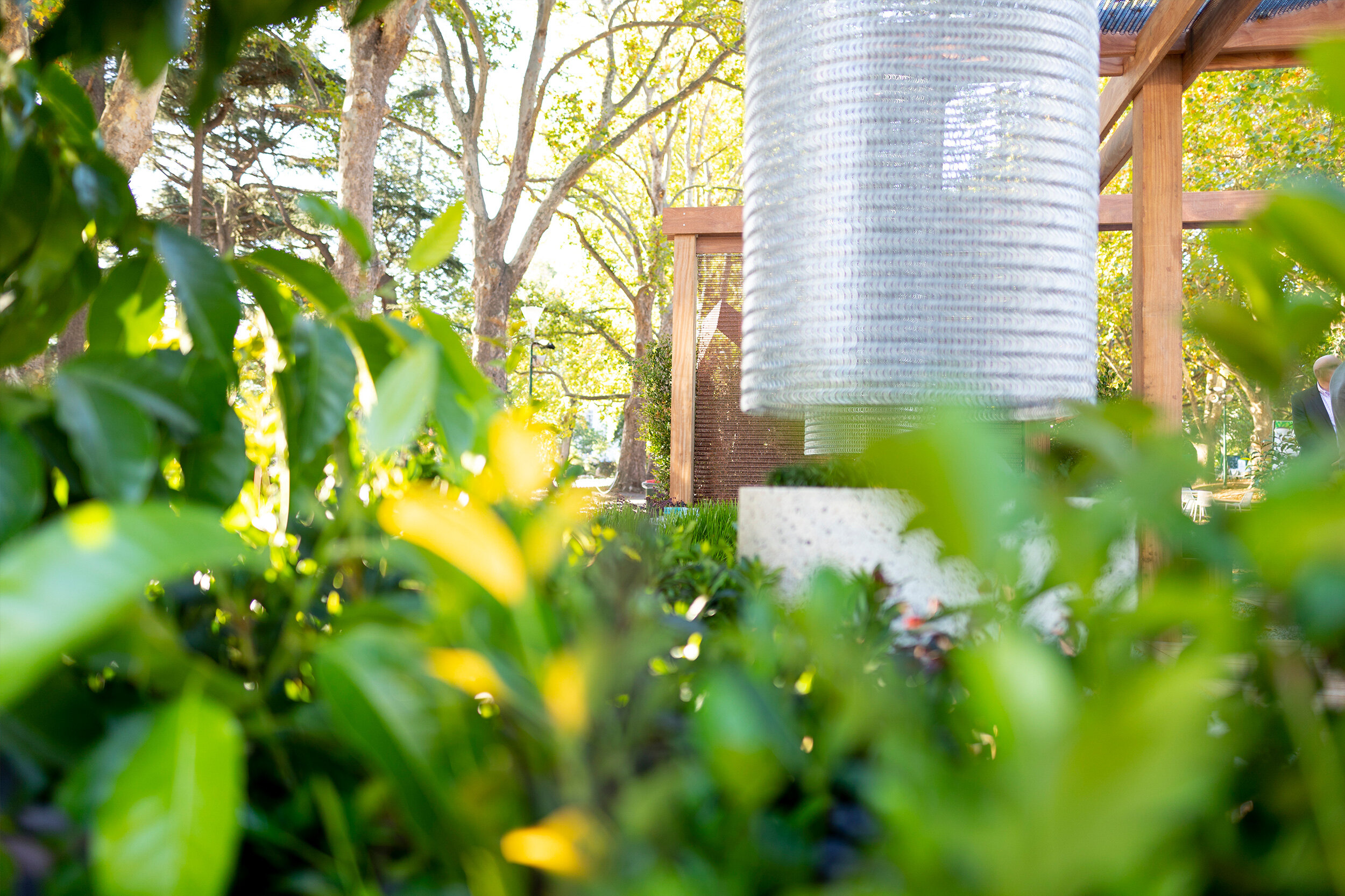Melbourne Garden Show 2019 with Kaynemaile mesh