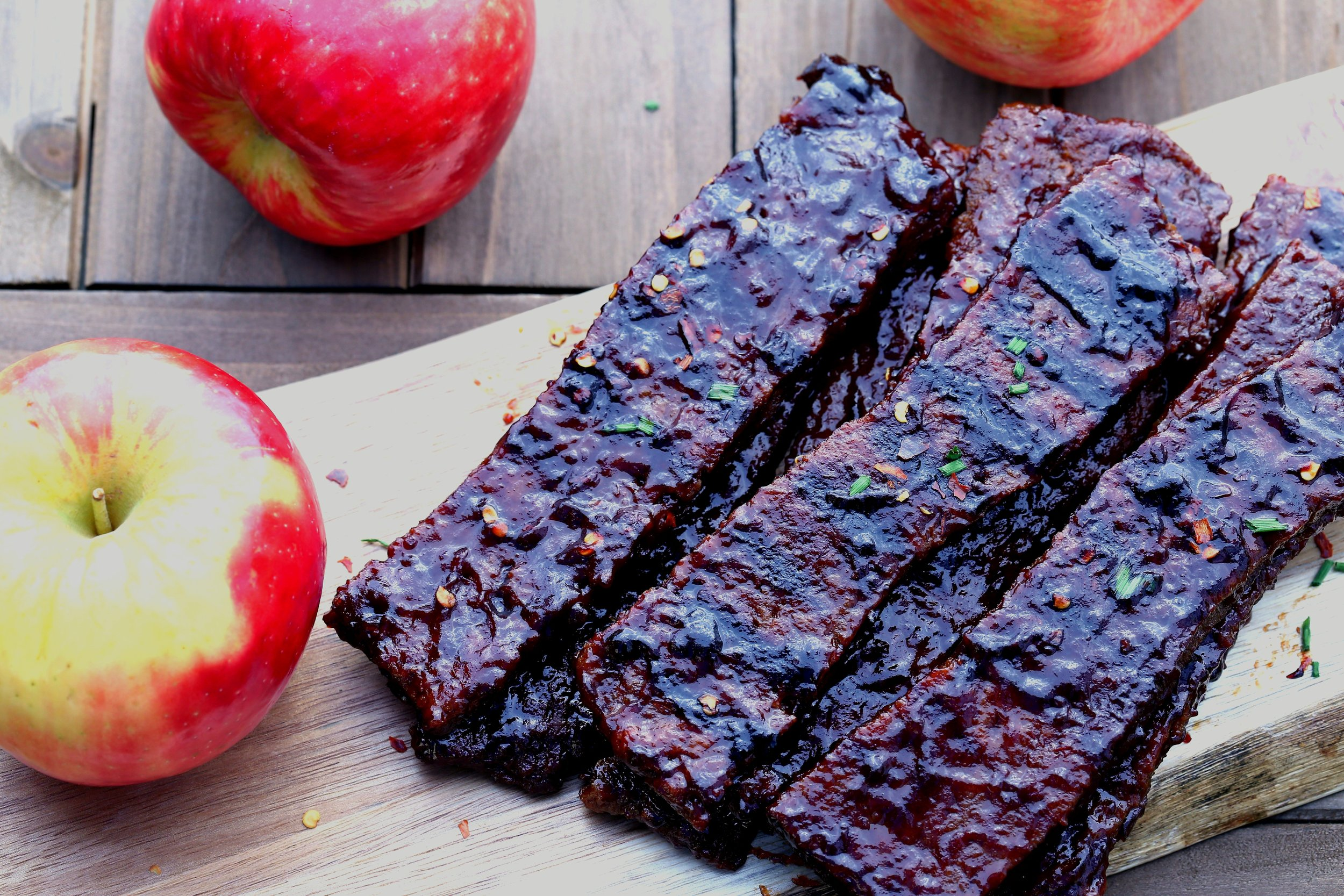 Veganation Vegan Apple Wood-Fired Ribs