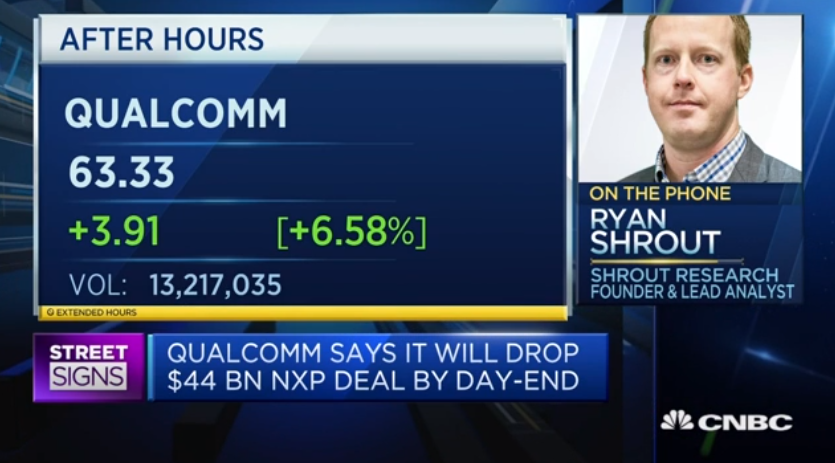 Qualcomm-NXP could have been 'an incredibly powerful force' -  SOURCE