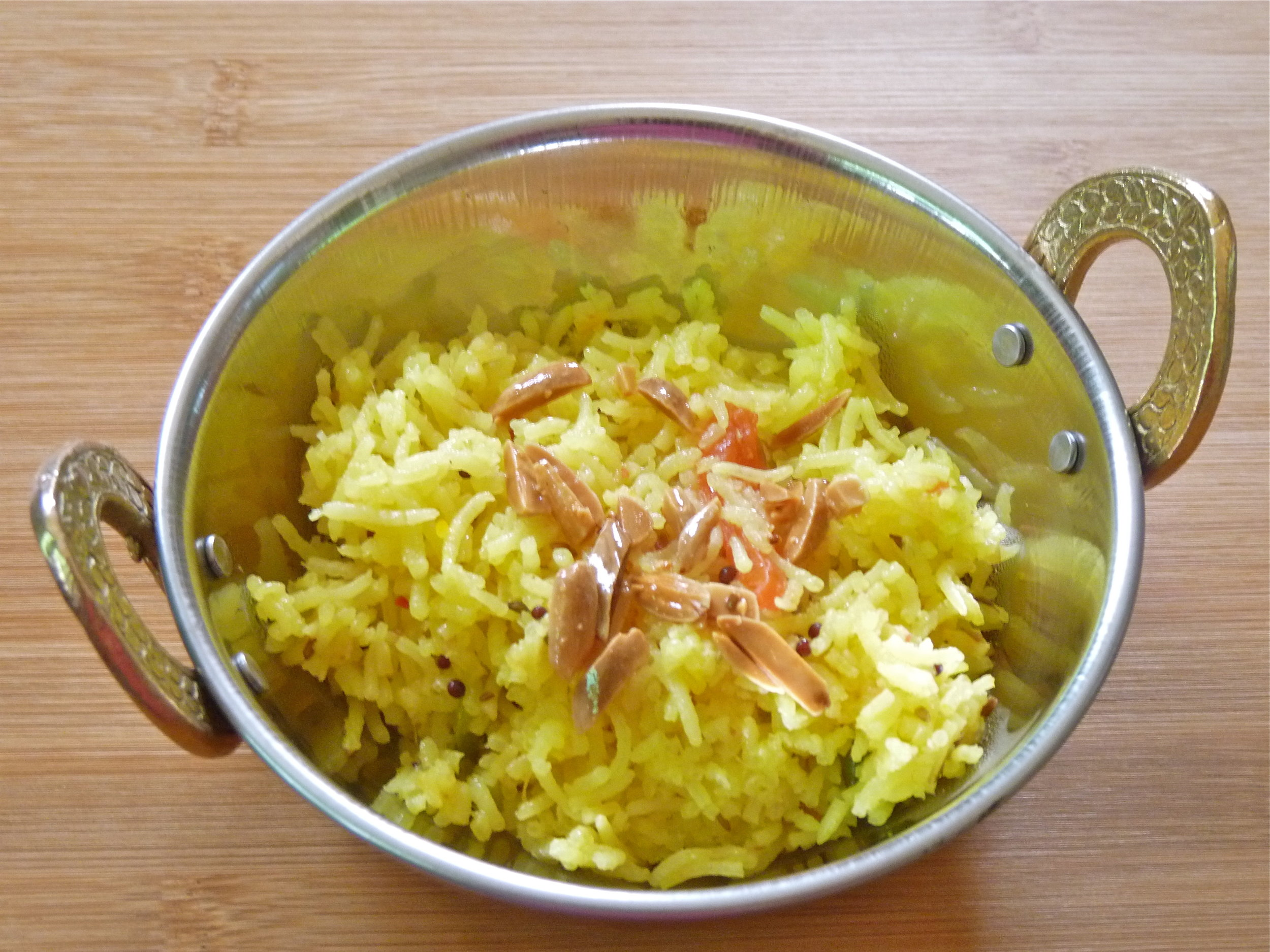 Ayurvedic Recipes_Saffron Pilaf