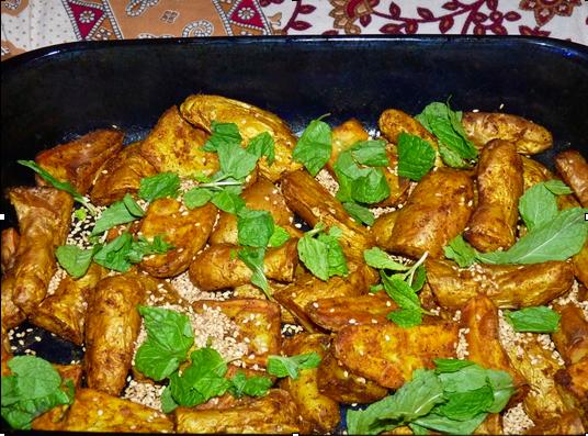 Ayurvedic Recipes_Moroccan Roast potatoes with Tahini Sauce.jpg