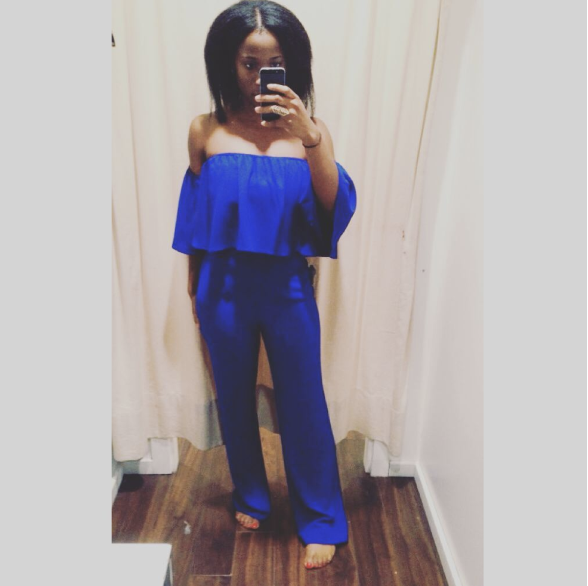 My Blue Jumpsuit - This is such a statement piece that I have managed to wear it to at least 3 special events.