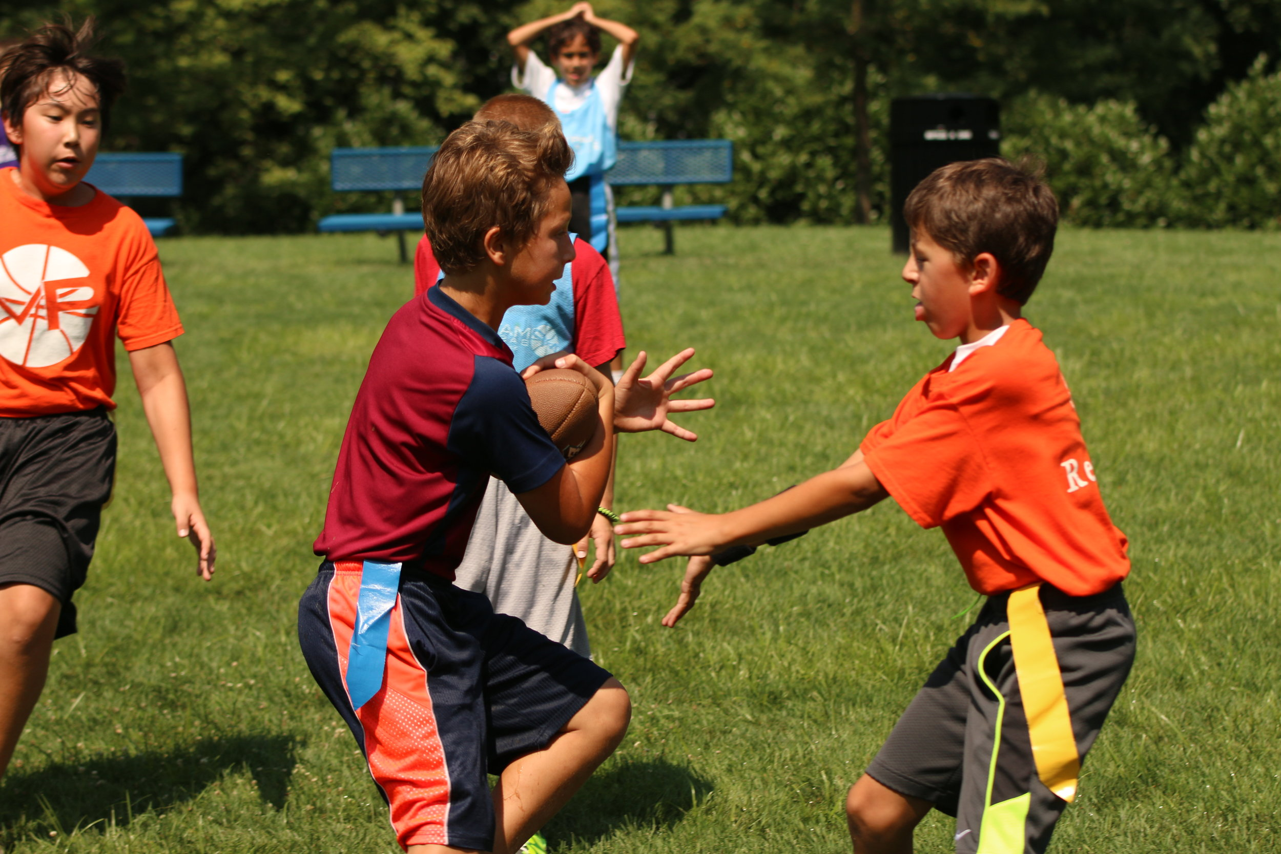 Thursdays After-School Flag Football @ Norwood-Fontbonne Academy   Grades 1-4 (3:00-4;15p)    REGISTER HERE