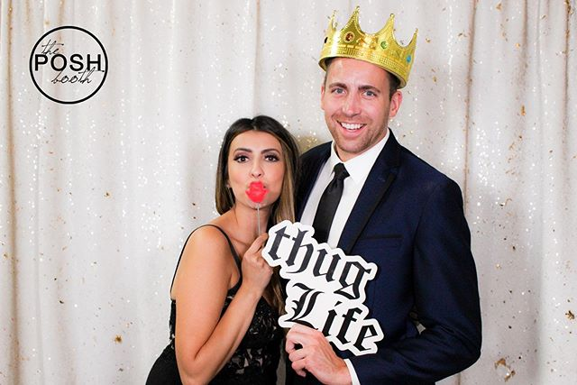 Posh props are always 🔥 #theposhbooth