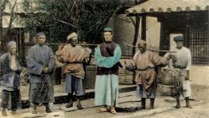 Robert Fortune Dressed as a Chinese Person