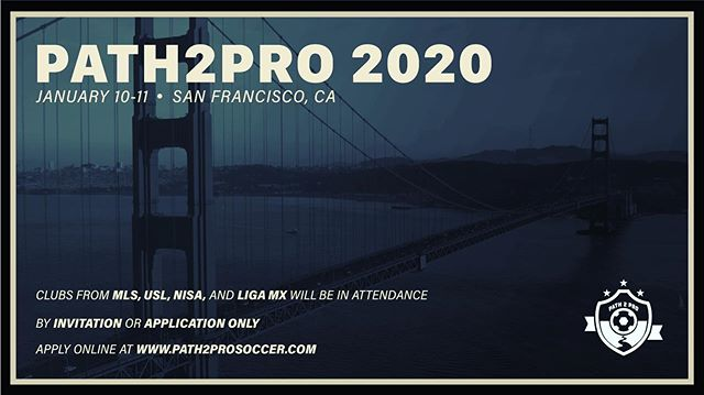 There's only 1 #Path2Pro - YOURS. Applications are open. Who's next? #Path2ProSoccer | #ProCombine 