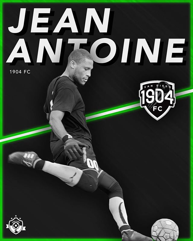 Going Pro.  Congrats @jeanerr121!  After two stellar seasons in @npslsoccer with @ascsandiego, Path2Pro alum Jean Antoine has signed his first professional contract with @nisasoccer club @1904fc. Good luck this season Jean! #path2pro   #path2prosoccer  #1904fc