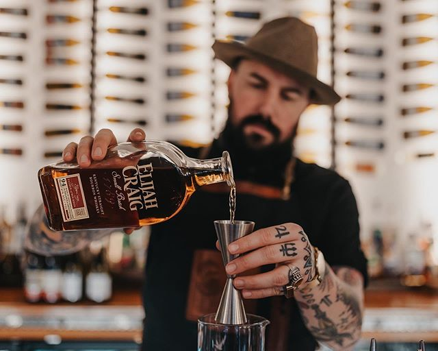 "You can say I'm old fashioned, but I'd rather stir one up for you instead. Swipe left to see the process of @dilworth_tasting_room ""DTR Fashioned"" @elijahcraig ✖️ @pinabarware ✖️ @cocktailkingdom #elijahcraig #pinabarware #cocktailkingdom 📸: @thewilltaylor"