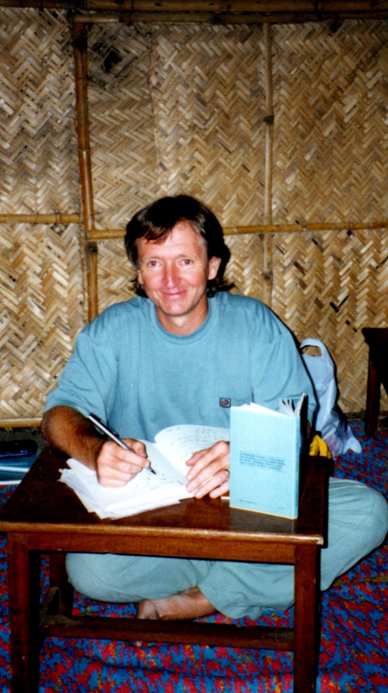 Peter at KYM Chennai 1996