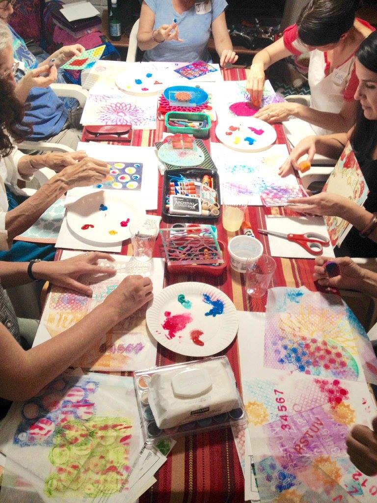 Copy of Busy creating marvelous artwork!