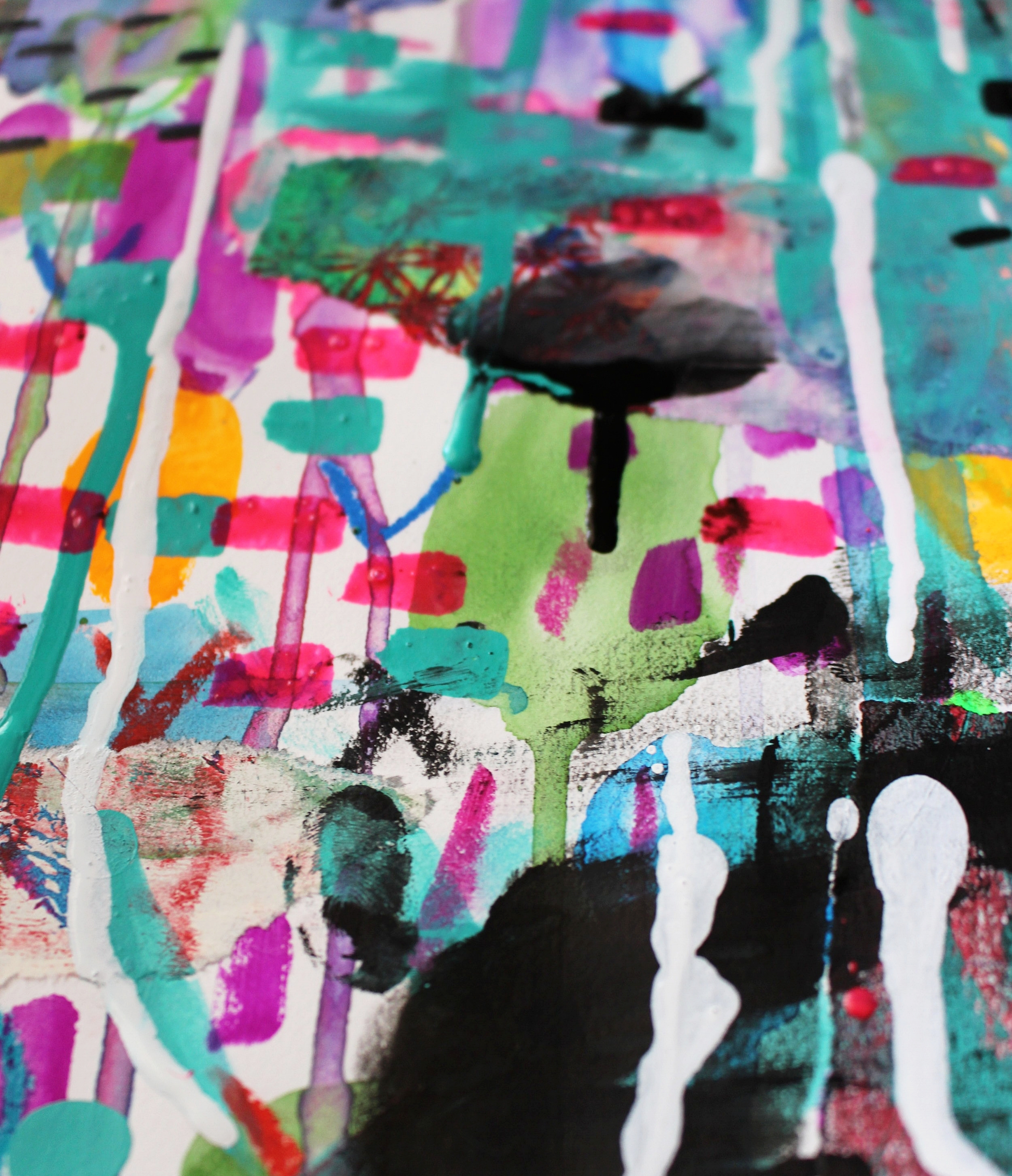 drippy, messy, colorful fun!