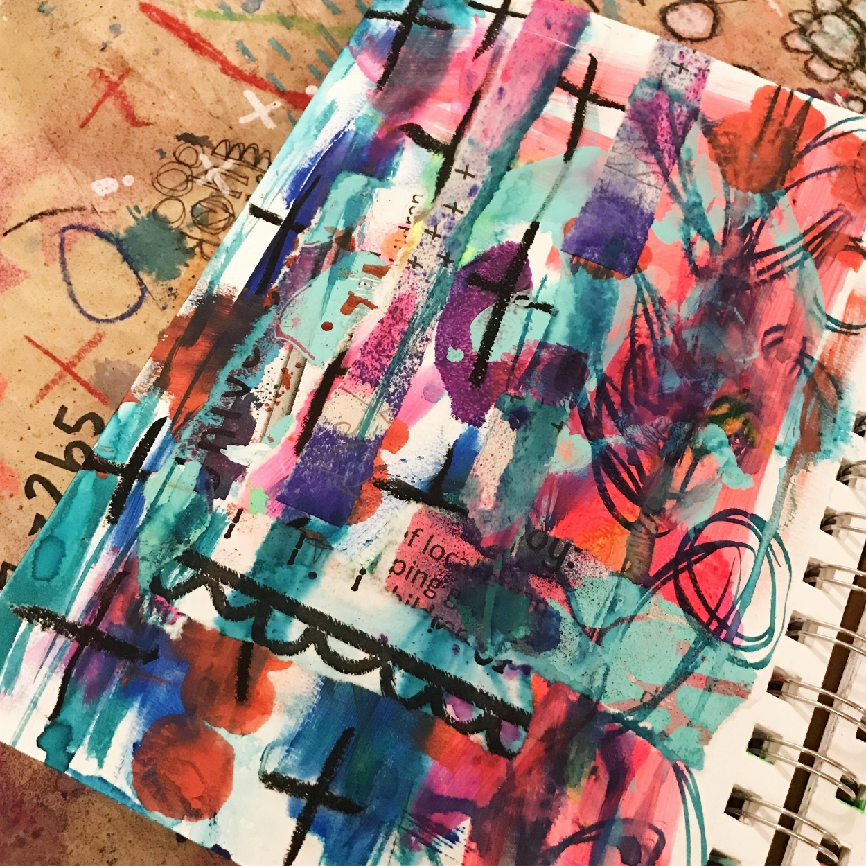"Prompt: ""Vertical"", Day 14 of 30 of #ArtMarks30dayChallenge"