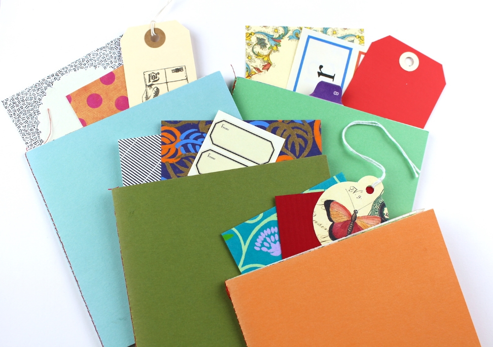 kinueko mini art journals