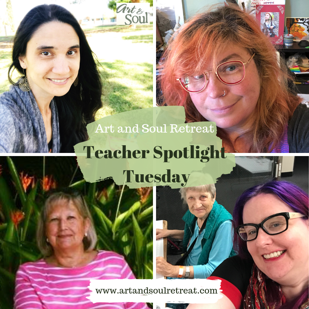 Teacher Spotlight Tuesday art and soul retreat