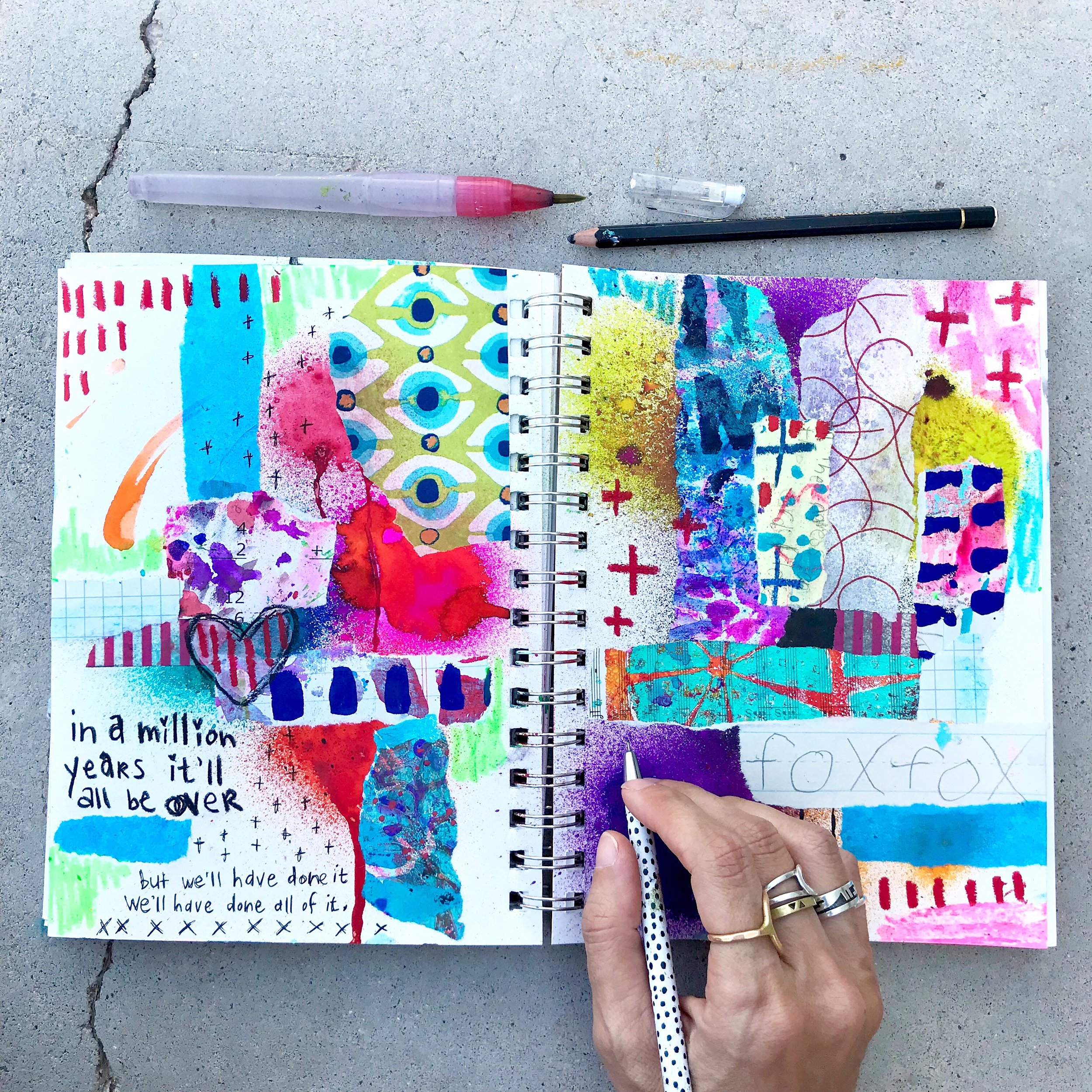 art journal abstracts online workshop