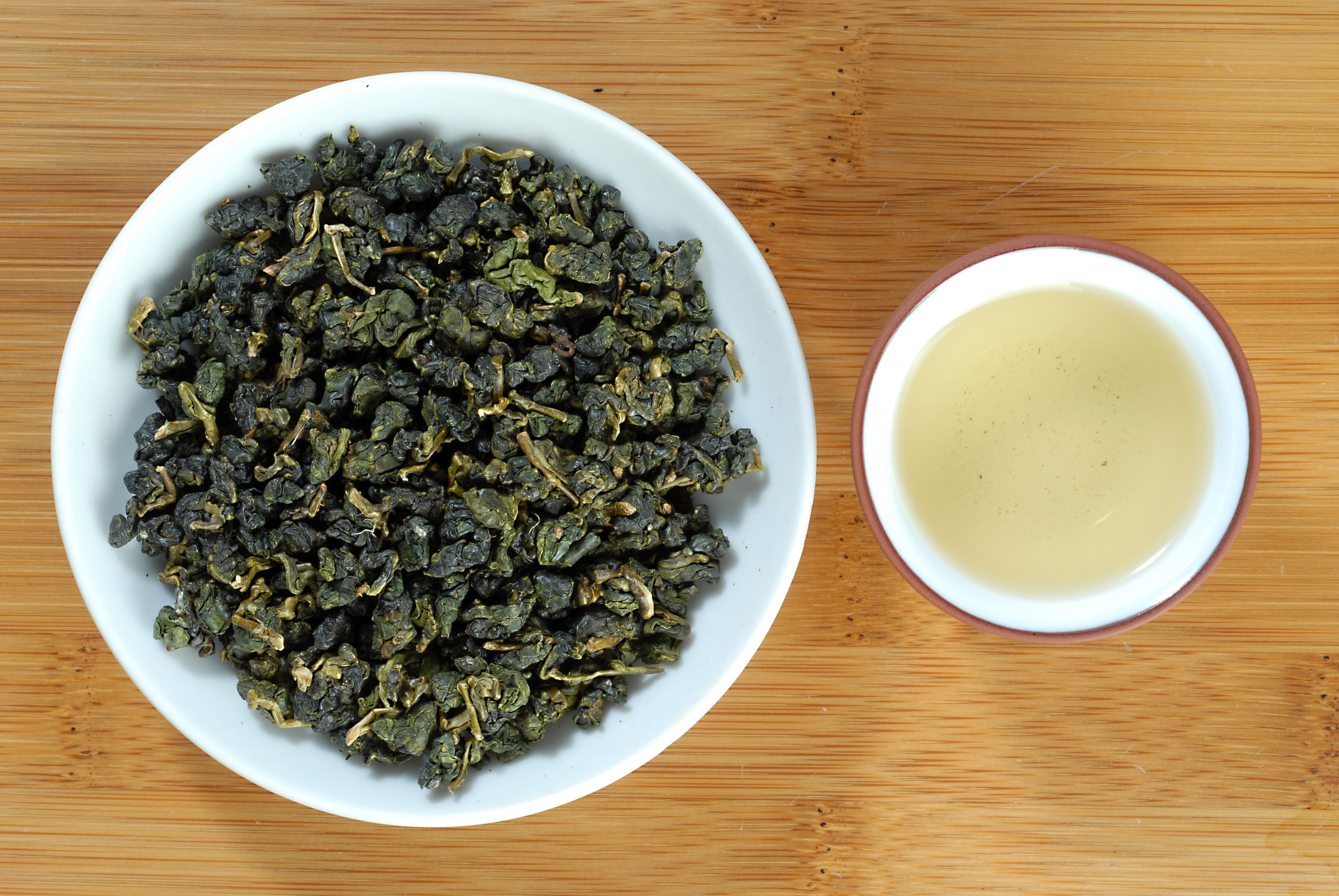 有記名茶高山(凍頂)烏龍茶 High Mountain Oolong Tea
