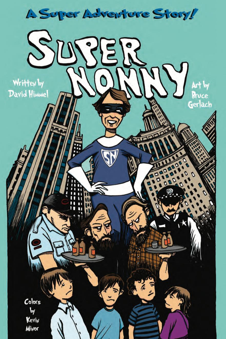Super Nonny     Limited edition comic book
