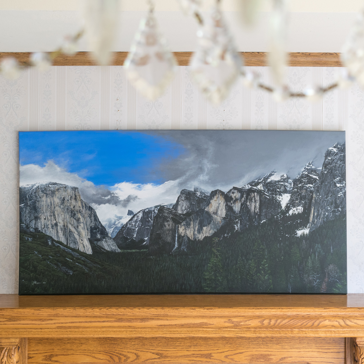 Yosemite, 2011, Acrylic on canvas, 1016mm x 609mm (40 in x 24 in)