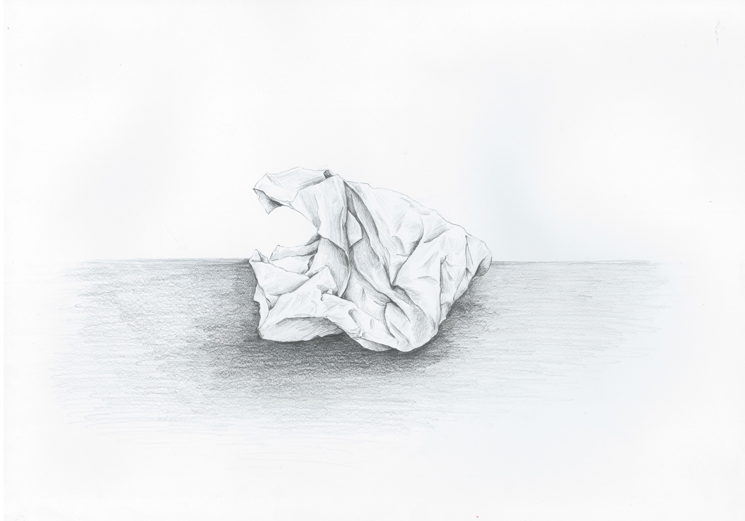 Discarded Paper
