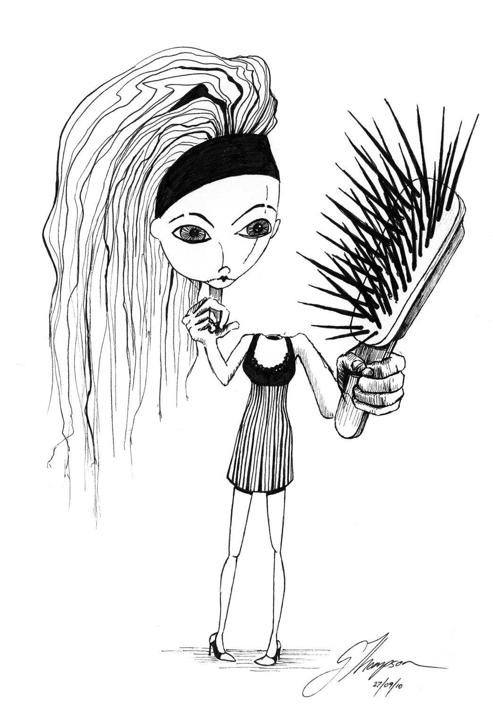 Scare Brush