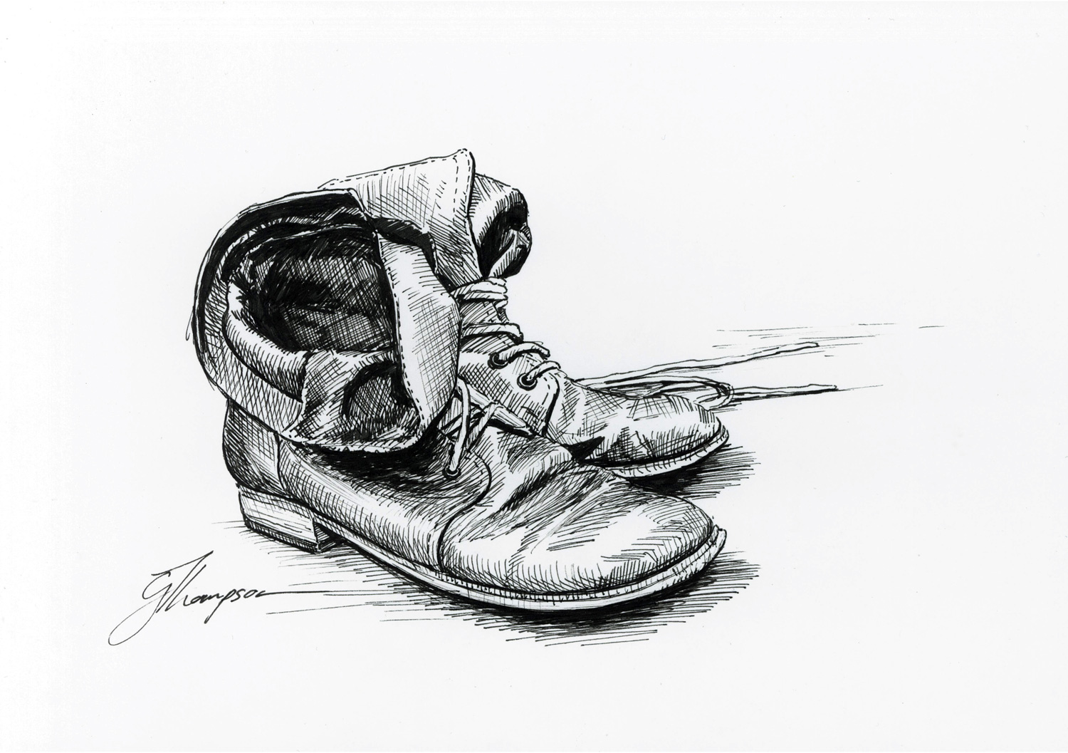 Neglected Shoes